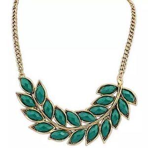 🆕 Leaf Statement Necklace